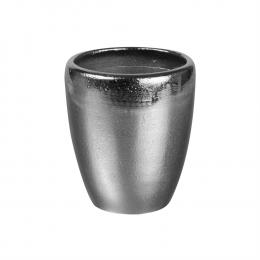 Vase cone pm argenth13d11cm