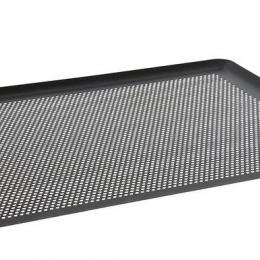 Plaque micro-perforée anti-adhésive aluminium 40 x 30 cm