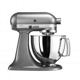Robot pâtissier multifonctions 4,8 L Artisan gris argent